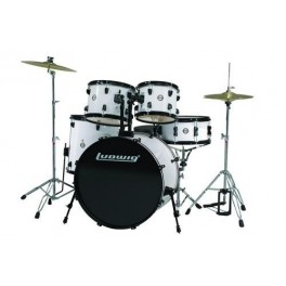 LUDWIG CS ACCENT FUSION WHITE