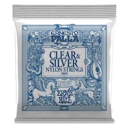 ERNIE BALL 2403 Clear & Silver Nylon String