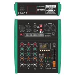 ZZIPP ZZMXBTR4 Mixer 4 canali