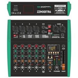 ZZIPP ZZMXBTR6 Mixer 6 canali